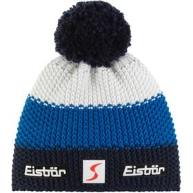 Eisbär Star Cappello con pon pon SP, blu/bianco